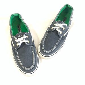 Sperry Perfectly Faded Navy Canvas Boat Shoes